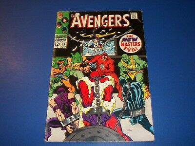 Avengers #54 Silver Age 1st Ultron Huge Key  Wow Scarlet Witch