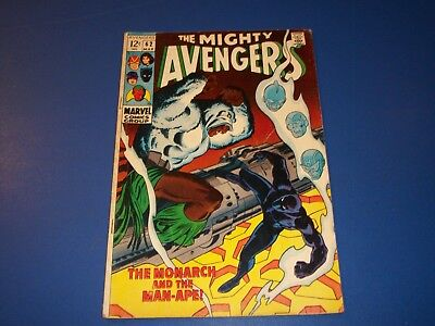 Avengers #62 Silver Age Black Panther Solid Wow