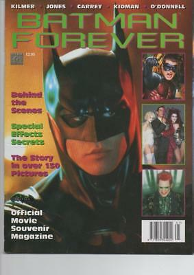 Batman Forever Offical Movie Souvenir Magazine Near Mint