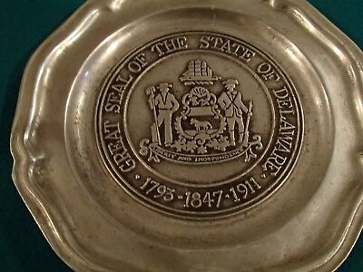 State of Delaware Plates
