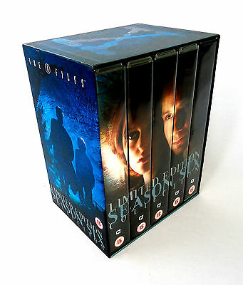 The X Files: Season Six-Limited Edition VHS Video Box Set-David Duchovny