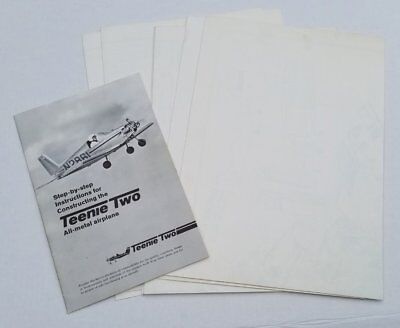 Constructing the Parker Teenie Two Airplane Original Plans 1971