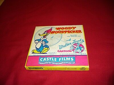 Woody Woodpecker-The Piano Tooner 8 MM Movie(Ext. Rare)