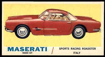 1961 Topps Sports Cars Maserati 5000 Gt #7 Nm-Mt   Otr1N1