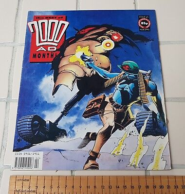 2000AD, The best of, Monthly, Issue 65, Feb 1991,
