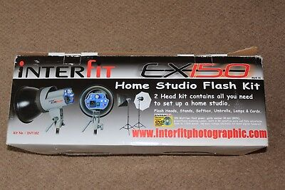 Interfit EX150 Complete Home Studio Flash Set