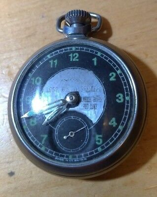 1957 Milwaukee Braves season FRED HANEY PLAYER WIND UP POCKET WATCH, WORKING