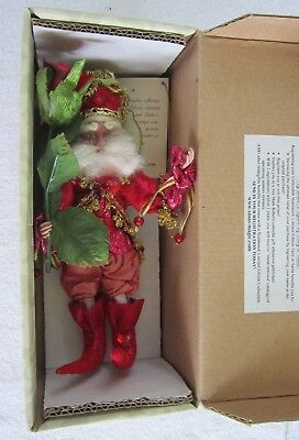 Mark Roberts Valentine Rose Fairy - Limited Edition With Original Box