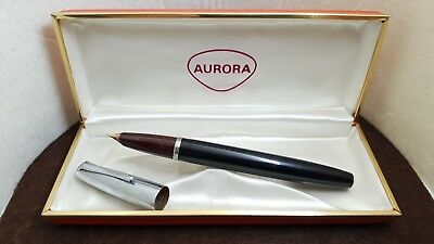 Vintage 50s Large AURORA 88 DUO-CART Fountain Pen w. BOX