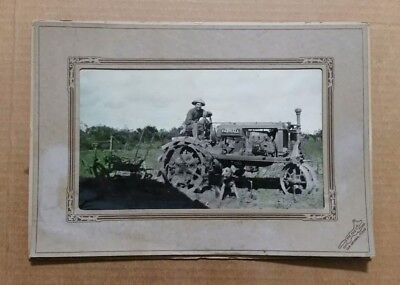 McCormick-Deering Farmall Tractor Photos (2) VINTAGE Early 1930's