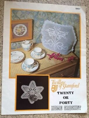 Vintage Crochet Tea Cosy And Centre Pattern By Twilleys Of Stamford