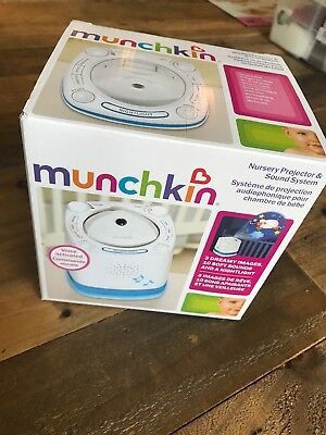 Munchkin Nursery Projector and Sound System Baby Soother Brand new