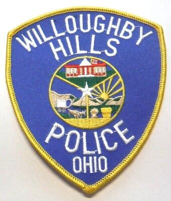 Willoughby Hills Ohio Police Patch Unused