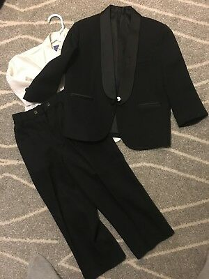 Toddler 3PC Boys Black Tuxedo 5T