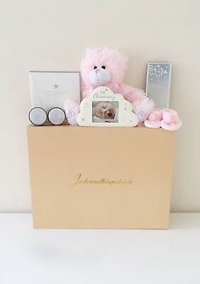 Baby Girl Christening Gift Box - Last One! End Of Line Stock!