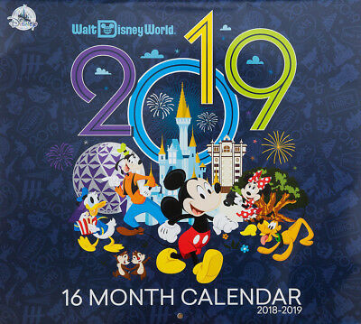 Walt Disney World 2018 - 2019 Calendar