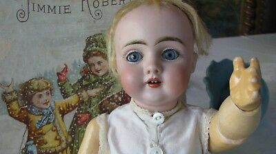 Antique German Kestner Charming Model 143  Bisque Character Doll  13 1/2 inches