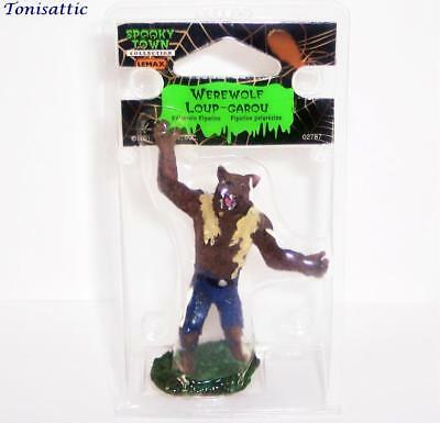 LEMAX Spooky Town Collection Retired RARE WEREWOLF #02787 In Original Package