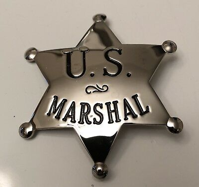 Blackinton Small Badge US Marshal Replica Federal
