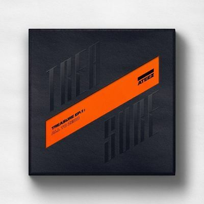 ATEEZ [Treasure EP.1:All To Zero]1st CD+Poster/On+Book+Sticker+Card+Gift Sealed
