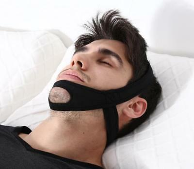 Anti Snore Chin Strap Sleep Apnea Belt Jaw Support Stop Snoring Safety Solution/