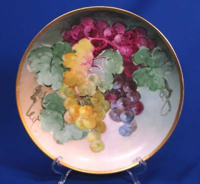 Hand-Painted Rosenthal Grape Clusters Plate