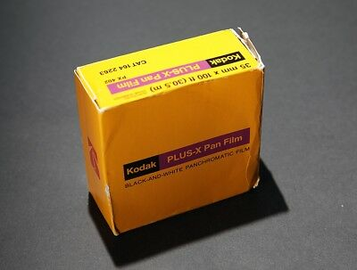 KODAK Plus-X Pan film. 100-foot roll. Classic B&W Film NEW