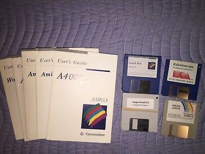 Amiga 4000: Using the System Software with vers 3.1 System Software + Janus disk