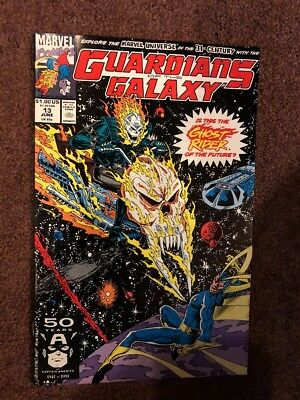 Guardians of the Galaxy #13  NM 1991 1st Future Ghost Rider High Grade Marvel