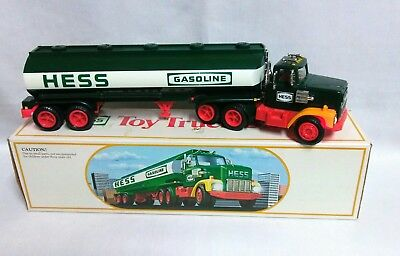 """Vintage 1984 Hess """"Toy Truck Bank"""" With Box in very good condition"""