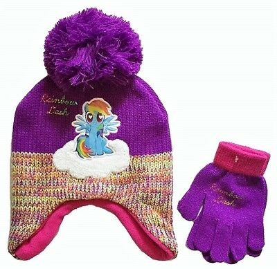 36d043483 MY LITTLE PONY ~Rainbow Dash Knit Hat ~NWT - $10.00 | PicClick