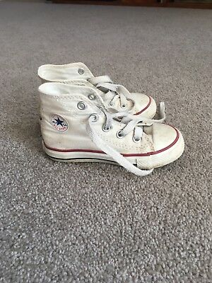 Converse kids hightops size 7