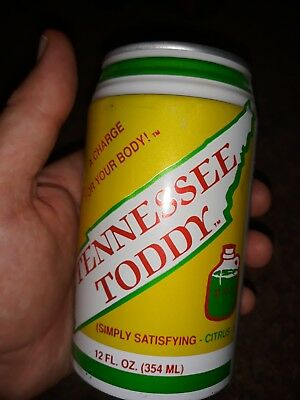 Tennessee Toddy SUPER RARE Mountain Dew Imitator Hillbilly Can Vintage