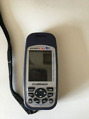 iFINDER H2Oc GPS L Lowrance  Metal Detecting - Hand Held GPS Unit