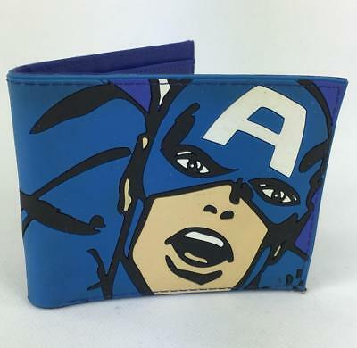 Captain America Inspired Wallet In Rubber