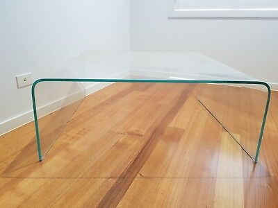 Saturn Square Glass Coffee Table
