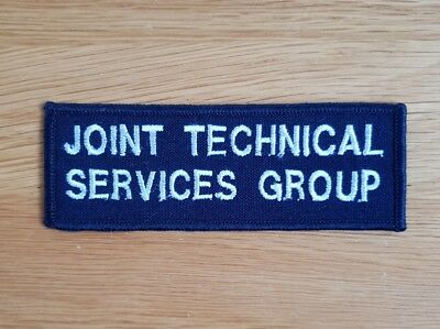 Old and Obsolete NSW Police Joint Technical Service Group Overalls Patch