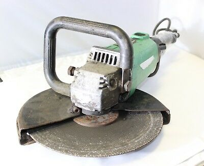 "Hitachi CC12Y 15-Amp AC/DC Corded Handheld Cut-Off Saw, 12"" Wheel Diameter, Used"