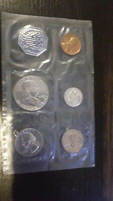 1963 Proof Set  ~ Flat Pack ~ US Silver Mint Coin Set
