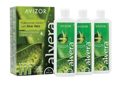 AVIZOR Alvera Multi-Purpose Contact Lens Solution with Aloe Vera