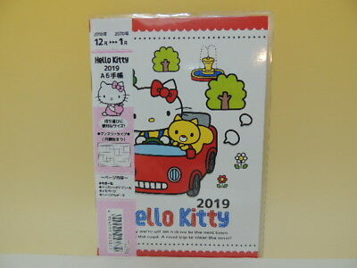 Hello Kitty 2019 A6 schedule note agenda Japan new Sanrio Type A