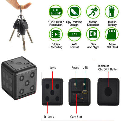 Sq16 Action Cam Full Hd Mini Spy Micro Camera Spia Telecamera Sport Ir