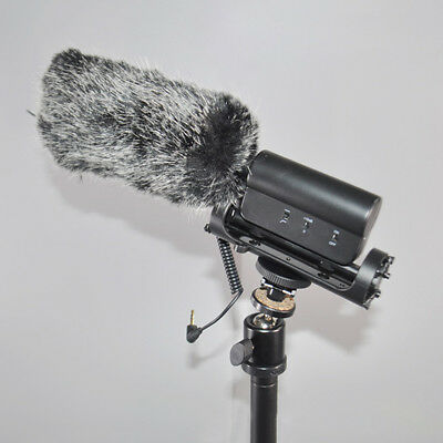 Long Shotgun Microphone Windscreen Muff for SGC-598 Rode Videomic NA-Q7 Comely