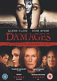 Damages - Series 1-2 - Complete (DVD, 2009, 6-Disc Set, Box-set) Used.