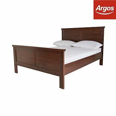 Argos Home Canterbury Double Bed Frame - Walnut