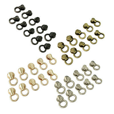 10Pc O Ring Rivet Back Screw Stud Spot Connector Joint Wallet Chain Hardware