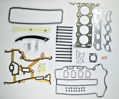 For Vauxhall Corsa 1.2 1.4 Z12Xep Z14Xep Head Gasket Set Bolts Timing Chain Kit