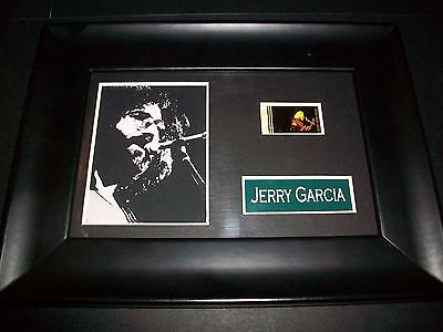 JERRY GARCIA Framed Movie Film Cell Memorabilia Compliments poster dvd cd