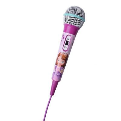 Disney Princess Sofia the First Aux Microphone Handheld by Volcano