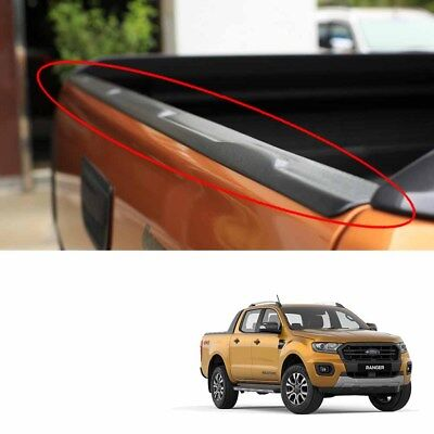 Black Rear Line Upper Tailgate Cap Cover For Ford Ranger New Wildtrak 2018 19